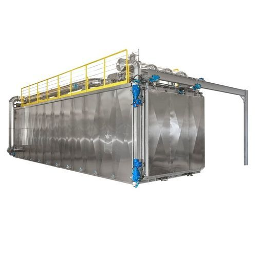 autoclave for the pharmaceutical industry / ethylene oxide / horizontal / floor-standing