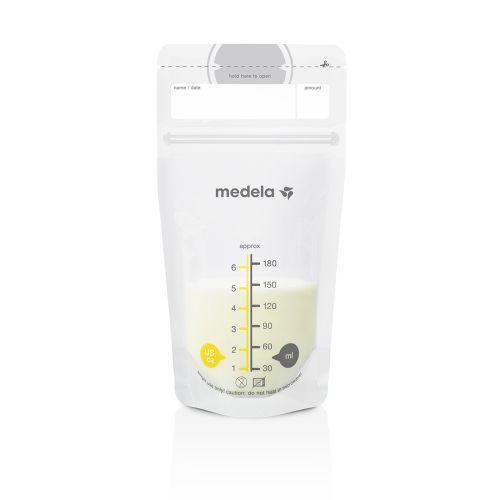 breast milk bag / handheld / plastic