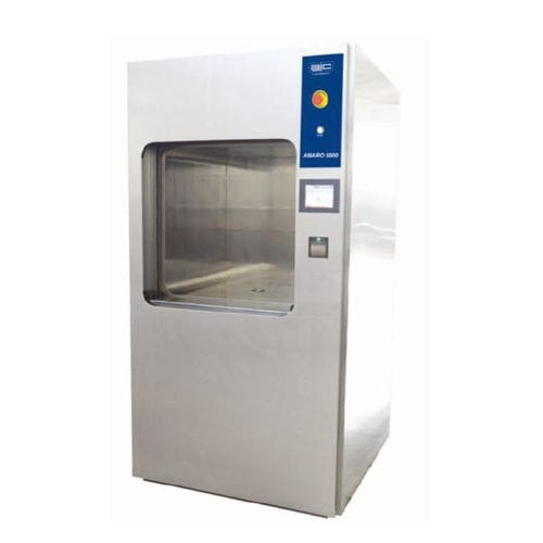 laboratory sterilizer / medical / steam / floor-standing