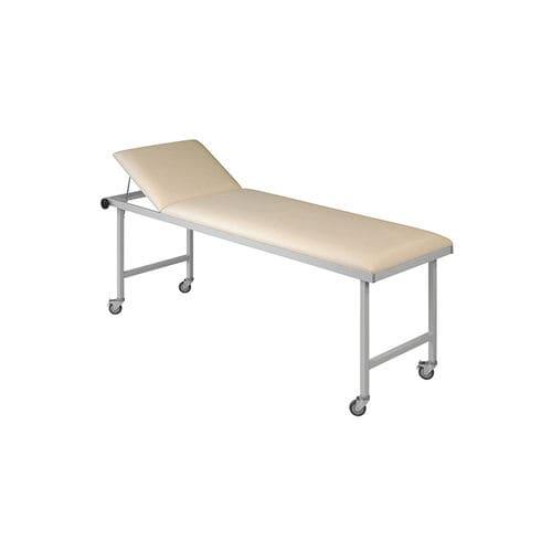 transport stretcher trolley / patient transfer / manual / with adjustable backrest