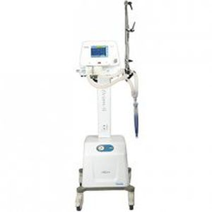 intensive care ventilator / emergency / non-invasive / with touch screen