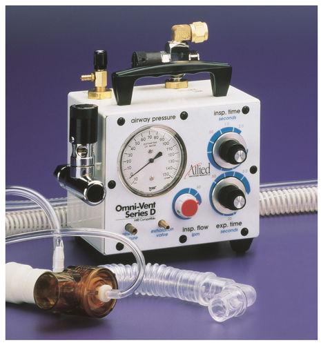 pneumatic ventilator / transport / CPAP / non-magnetic