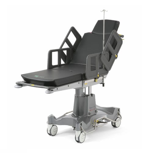 universal operating table / manual / on casters
