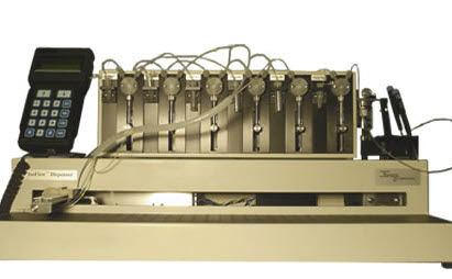 laboratory reagent dispenser