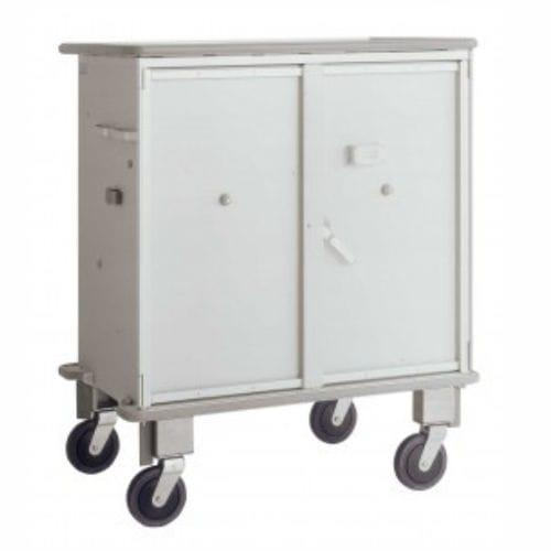 transport trolley / for medicine / for AGV / waste