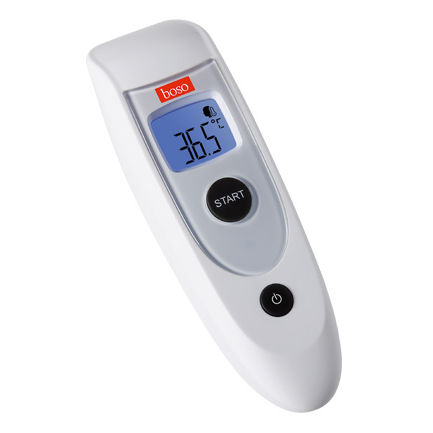 medical thermometer / electronic / infrared / forehead