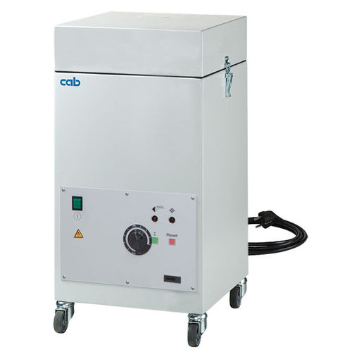mobile fume extractor / for laser marking systems / exhaust