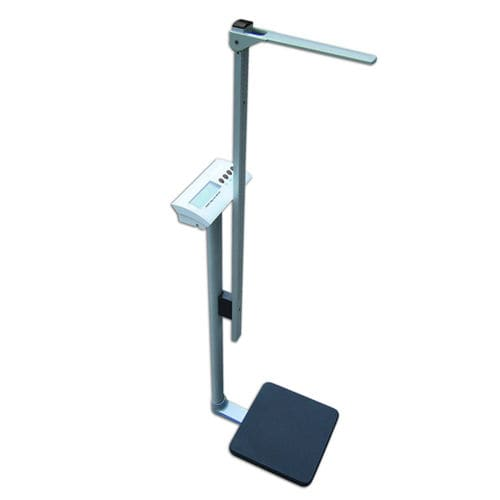 electronic patient weighing scale / bariatric / with LCD display / column type