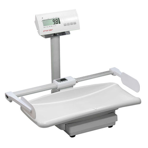 electronic baby scale / with LCD display / with mobile display / tabletop