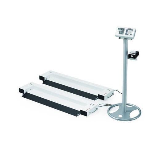 electronic bed scale / with LCD display / platform