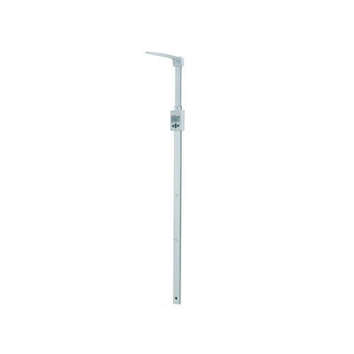 electronic height rod / wall-mounted / with USB