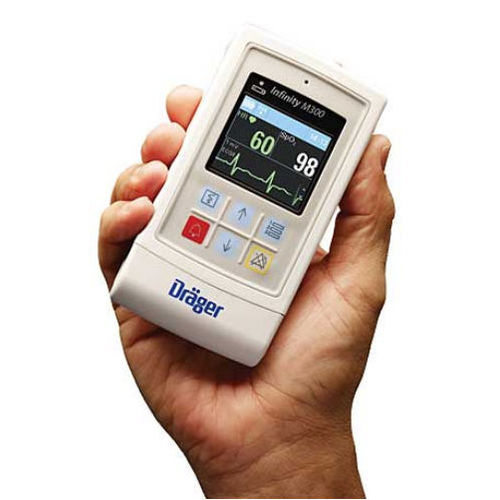multi-parameter SpO2 monitor / ECG / ambulatory / portable