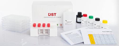 food intolerance test kit / IgG / plasma / serum