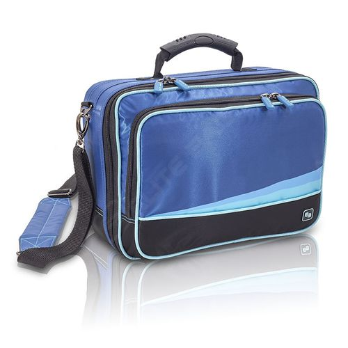 nurse's medical suitcase / for medical devices / first aid / shoulder strap