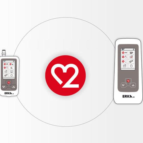 blood pressure monitor software / data management / for communication / measurement