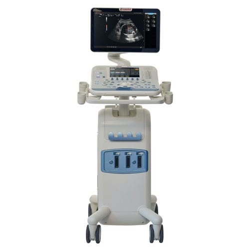 on-platform, compact ultrasound system / for multipurpose ultrasound imaging / touchscreen