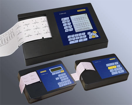 Resting electrocardiograph / analog / 3-channel / 1-channel Cardiorapid K130B Progress Eurocamina