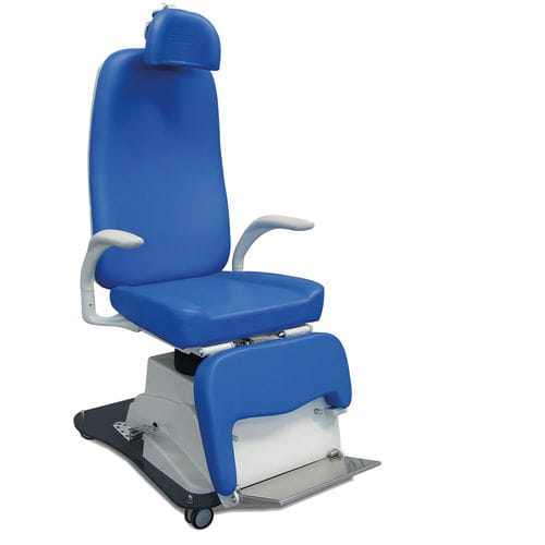 ENT examination chair / hydraulic / height-adjustable / with adjustable backrest
