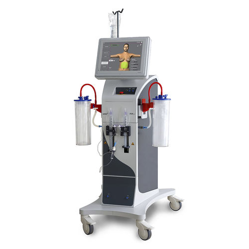 electric surgical suction pump / for liposuction / on casters