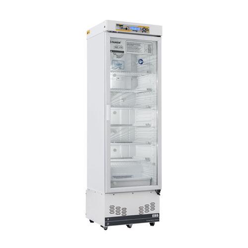 pharmacy refrigerator / cabinet / with glass door / 1-door