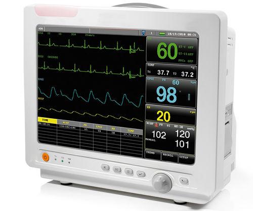 multi-parameter ECG monitor / RESP / TEMP / blood pressure