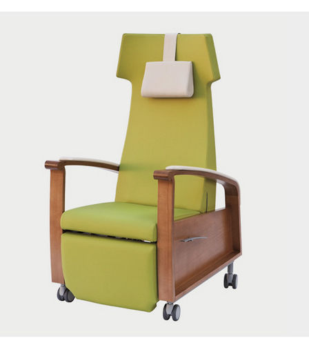 Nursing home chair / on casters / manual relax 2 GREINER