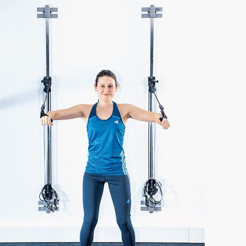 crossover exercise pulley / high / low