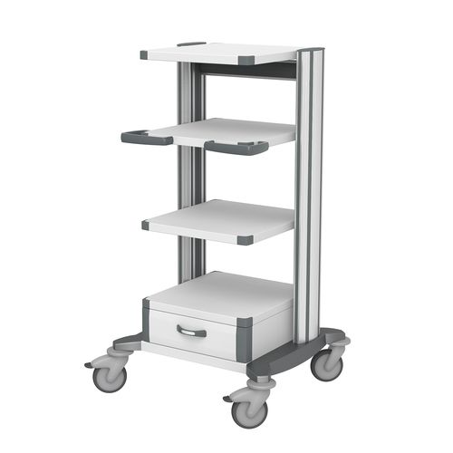 equipment trolley / anesthesia / for sterilization chambers / docking