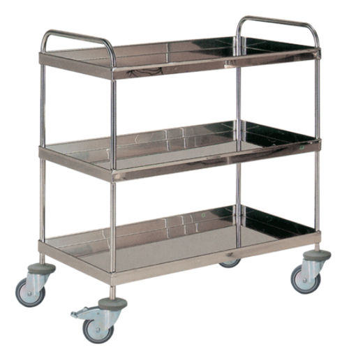 transport trolley / multi-function / clean linen / for general purpose
