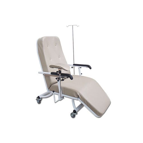 manual hemodialysis chair / 3-section / on casters / Trendelenburg
