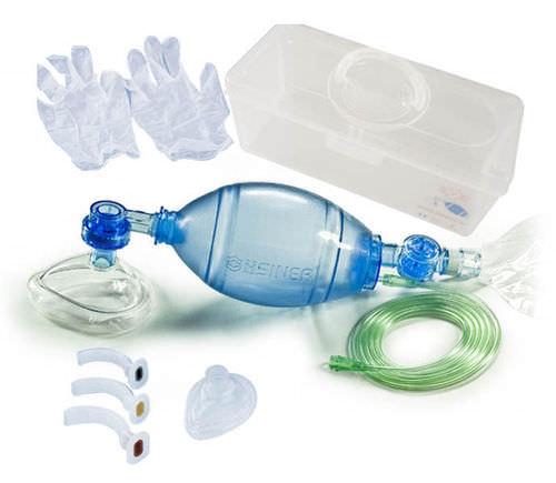 manual resuscitation medical kit
