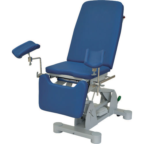 gynecological examination chair / electric / height-adjustable / 3 sections