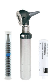 Otoscope endoscope / with speculum 3.5 V | KaWe COMBILIGHT® F.O.30 KaWe