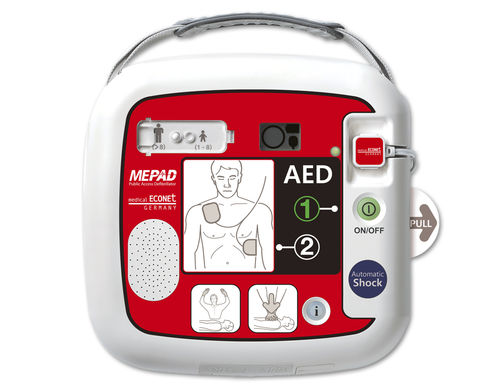 Automatic external defibrillator ME PAD Automatic Medical Econet