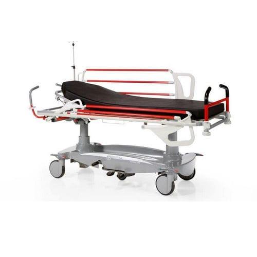 transport stretcher trolley / pneumatic / Trendelenburg / reverse Trendelenburg