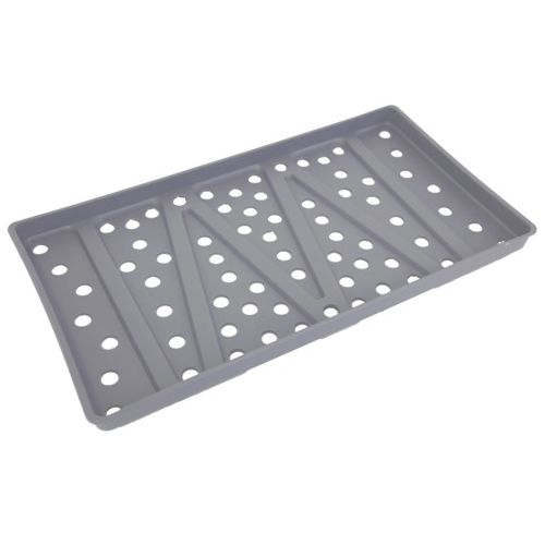 instrument sterilization tray / plastic / perforated