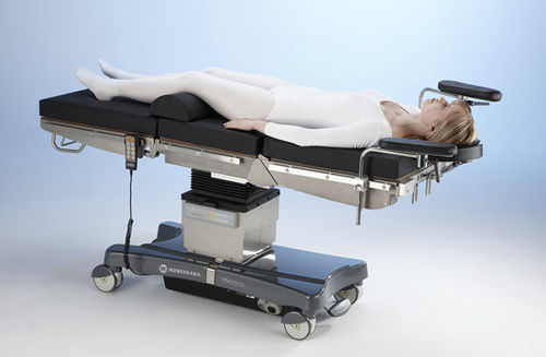 universal operating table / electric / mechanical / on casters