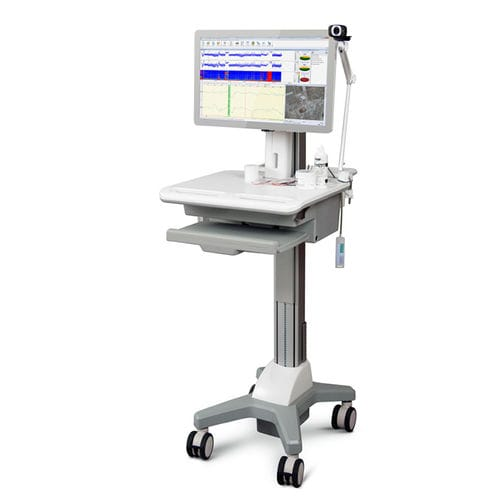 intensive care patient monitor / EEG / on casters / with touchscreen