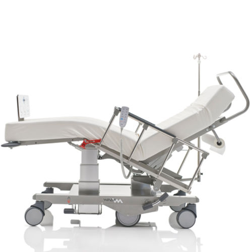 general examination chair / electric / height-adjustable / on casters