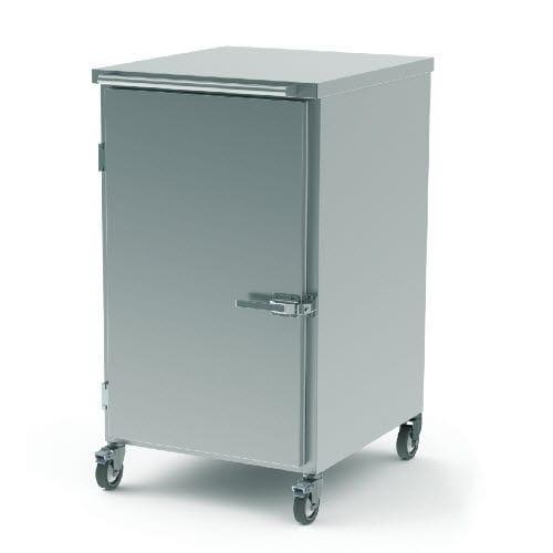transport trolley / for sterile materials / for sterilization baskets / 1-door