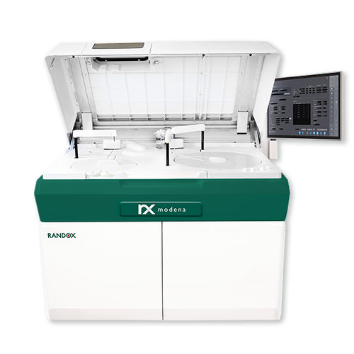 automated clinical chemistry analyzer / floor-standing / with ISE / with touch screen