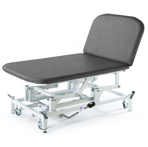electric Bobath table / manual / height-adjustable / on casters
