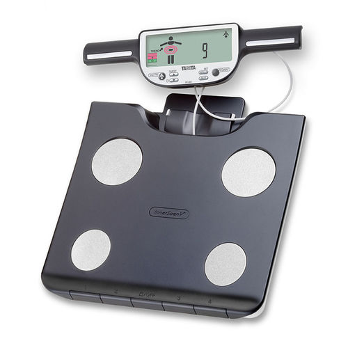 segmental body composition analyzer / for fat mass measurement / with LCD display / with mobile display