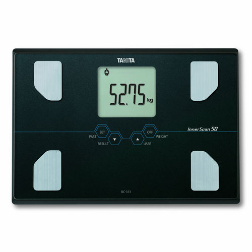 bio-impedancemetry body composition analyzer / with LCD display / compact / with BMI calculation