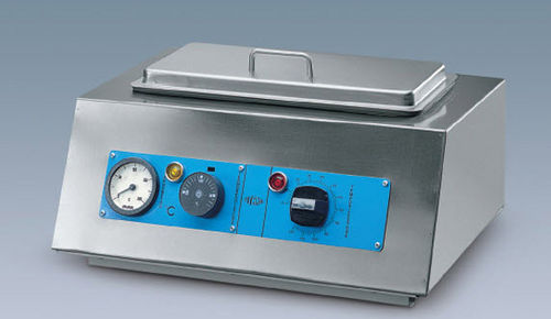 medical sterilizer / hot air / bench-top / automatic