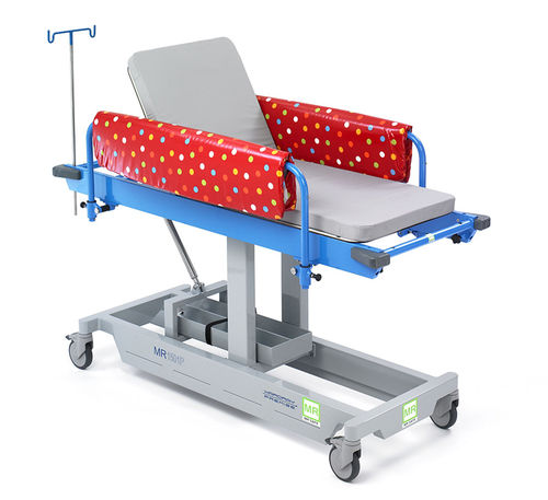transport stretcher trolley / manual / pediatric / non-magnetic
