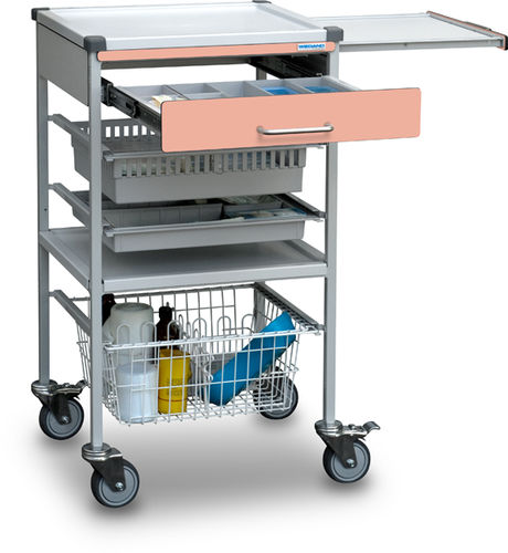 multi-function trolley / transport / for instruments / medication
