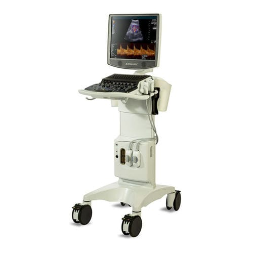 on-platform, compact ultrasound system / for cardiovascular ultrasound imaging / for emergency medicine ultrasound imaging / for intraoperative ultrasound imaging