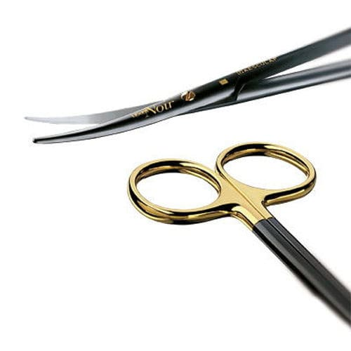 dissection scissors / Metzenbaum / Mayo / human