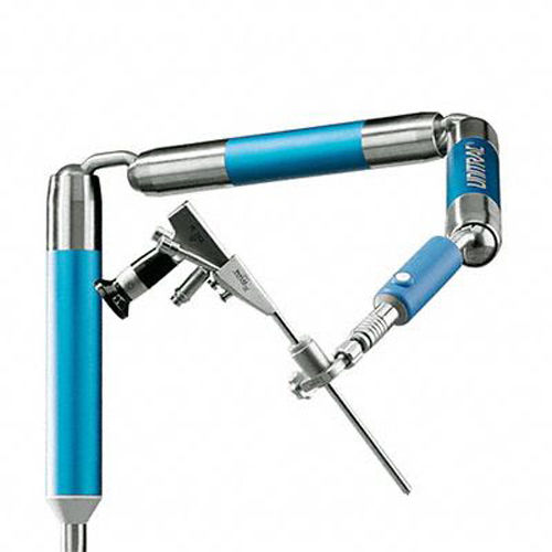 articulated instrument holding arm / for minimally invasive surgery / for endoscopes